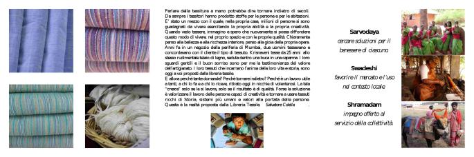 libreria tessile_volantino_retro